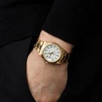 Rolex Oyster Perpetual Date Geelgoud 34mm Wit Romeins Nederland, Amsterdam