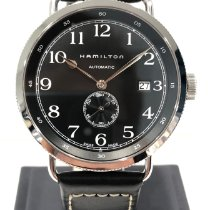 Hamilton Khaki Navy Pioneer Acier 40mm Noir
