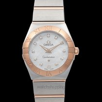 Omega Constellation Quartz 123.20.24.60.55.001 New 24mm Quartz United States of America, California, San Mateo