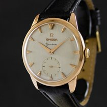 Omega Rose gold Manual winding No numerals 36mm pre-owned Genève