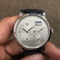 A. Lange & Söhne Platinum 38.5mm Manual winding 191.025 pre-owned Singapore, Singapore