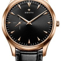 Zenith Red gold Automatic 40mm new Elite Ultra Thin