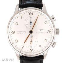 IWC Portugieser Chronograph Stahl 41mm Silber Arabisch Deutschland, Düsseldorf