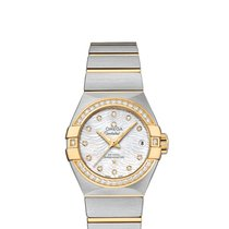 Omega Constellation Ladies Gold/Steel Mother of pearl United States of America, Florida, Miami
