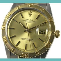 Rolex Datejust Turn-O-Graph Aur/Otel 36mm Auriu Fara cifre
