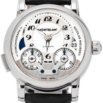 Montblanc Steel Automatic 43mm pre-owned Nicolas Rieussec