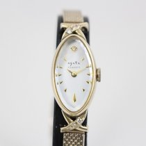 Swatch Roségold Quarz Perlmutt 12mm gebraucht