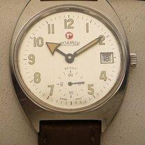 Roamer Acero 35.8mm Cuerda manual Vintage Armbanduhr Roamer Sport in Edelstahl,Cal. Unitas 638 usados