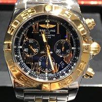 Breitling Chronomat 44 Or/Acier 44mm Noir Romain