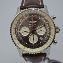 Breitling Navitimer Rattrapante Steel 45mm Brown No numerals United States of America, Pennsylvania, Uniontown