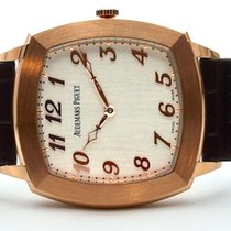 Audemars Piguet Tradition Rose gold 41mm Silver (solid) Arabic numerals
