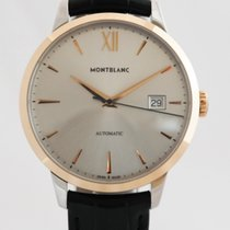 Montblanc Gold/Steel 39mm Automatic 111624 new