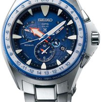 Seiko Prospex Marinemaster GPS Solar Dual Time Limited Edition...