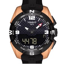 Tissot T-Touch Expert Solar NBA Titanium Case Carbon Black Dial T