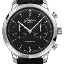 Glashütte Original Sixties Chronograph Steel 42mm Black United States of America, New York, Airmont
