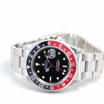 "Rolex GMT-Master II ""Coke"" Stainless Steel Black Dial-16710"