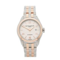 Baume & Mercier Clifton Stainless Steel Ladies M0A10152 -...