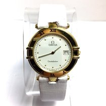 Omega Constellation Ladies pre-owned 33mm White Date Leather