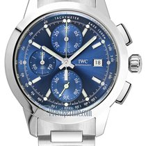 IWC Ingenieur Chronograph Steel 42.3mm Blue United States of America, New York, Airmont