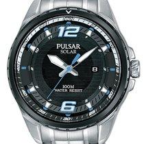 Pulsar Steel 44mm Quartz PX3127X1 new