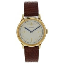 Movado Vintage Movado Gold Toned Mechanical Hand Winding Watch