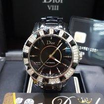 Dior VIII ceramic automatic with diamonds