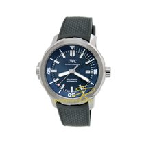 IWC Aquatimer Automatic new Automatic Watch with original box and original papers IW329005 IWC AquaTIMER Expedition Acciaio Blu Gomma 42mm