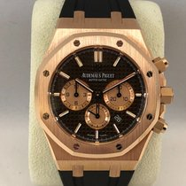 Audemars Piguet Royal Oak Chronograph Pink gold / Brown dial /...
