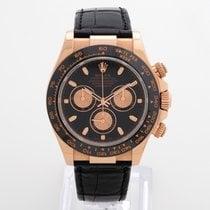 Rolex Daytona everose 116515LN black dial full set Box Papers EU