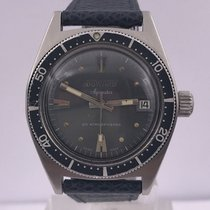 Aquastar vintage DIVER from DUWARD geneve COUSTEAU watch ref 1346