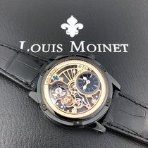 Louis Moinet 45mm Automatik 2019 neu Tempograph Schwarz