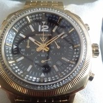 Wittnauer Diamond Chronograph Black