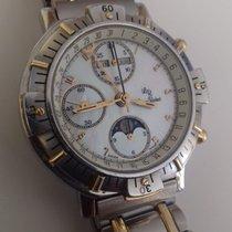 Lucien Rochat Chronograph Gold/Steel 21.100.052/1 Mondphase...