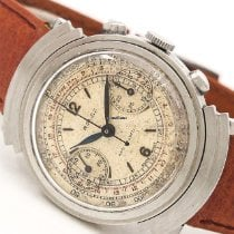 Rolex Chronograph Acero 33mm Blanco Arábigos