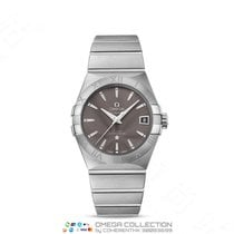 Omega Constellation Men Acero 38mm Gris Sin cifras