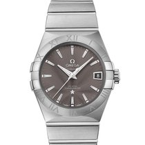 Omega Constellation Men Steel 38mm Grey No numerals