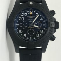 Breitling Automatic Black Arabic numerals 50mm pre-owned Avenger Hurricane