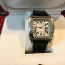 Cartier Chronograph pre-owned Santos 100