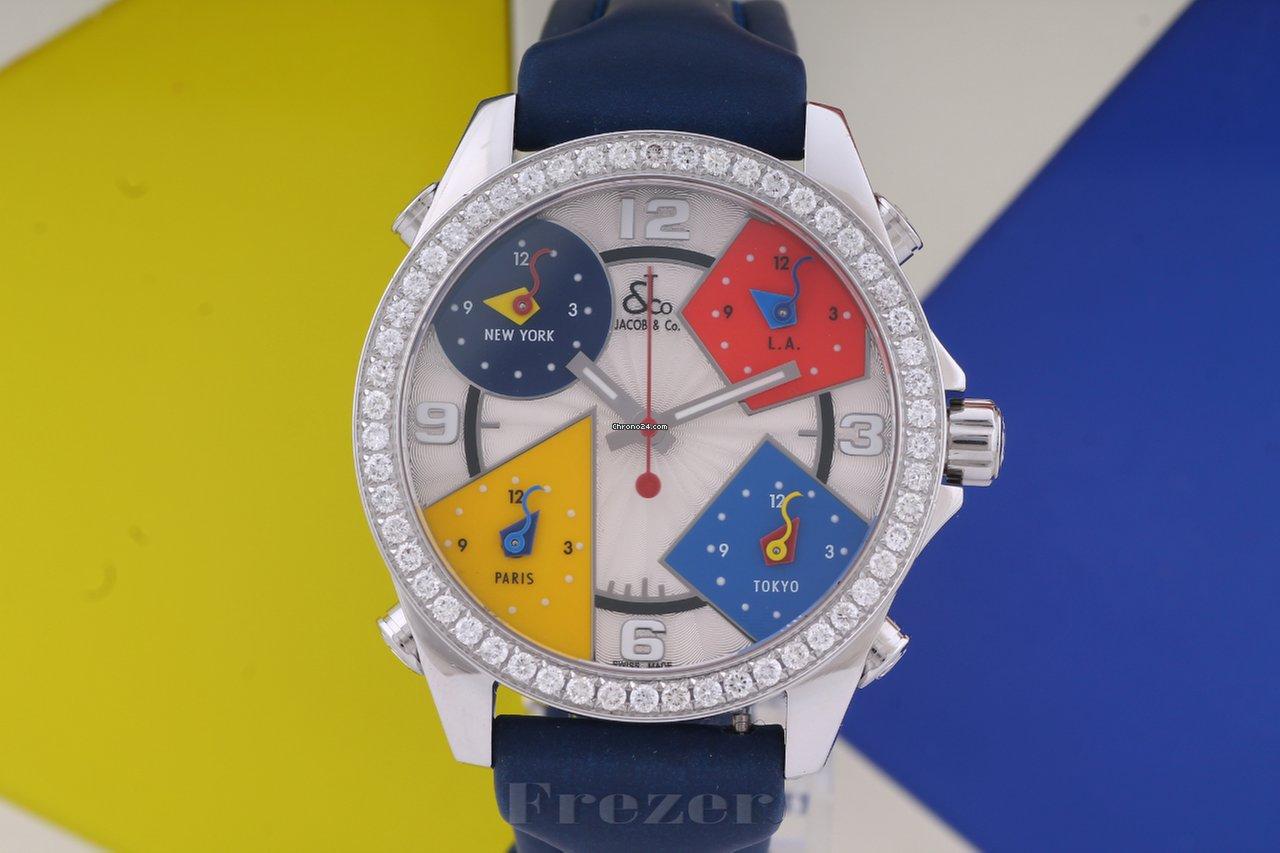 703cda13ed1 Relógios Jacob   Co. usados - Compare os preços de relógios Jacob   Co.  usados