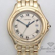 Cartier Cougar usados 33mm Fecha Oro amarillo