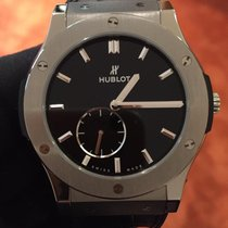 Hublot Classic Fusion Ultra-Thin 515.NX.1270.LR New Titanium 45mm Manual winding