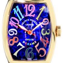 Franck Muller Color Dreams Rose gold 32mm Blue Arabic numerals