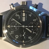 IWC Pilot Chronograph Acciaio 39mm Nero Arabo Italia, Buccinasco (MI)
