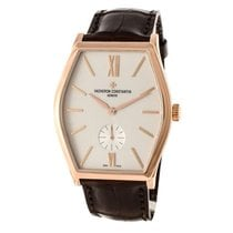 Vacheron Constantin Malte Rose gold Silver United States of America, Massachusetts, Andover
