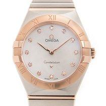 Omega Constellation 28mm White