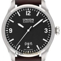 Union Glashütte Belisar Pilot Steel 41mm Black
