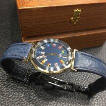 昆仑 陶瓷 石英 藍色 34mm 二手 Admiral's Cup (submodel)