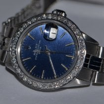 Rolex Oyster Perpetual Date Steel 26mm Mother of pearl No numerals United States of America, New York, NEW YORK CITY