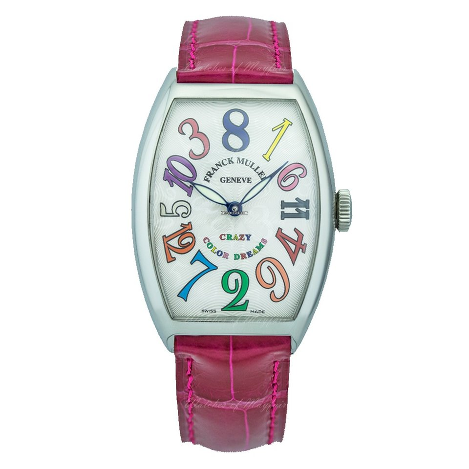 Franck Muller Color Dreams 5850 CH COL DRM.SS or 5850CHCOLDRM.SS new