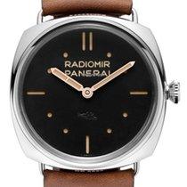 沛納海 Radiomir 3 Days 47mm 鋼 47mm 黑色 無數字